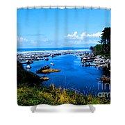 Pacific Escape Shower Curtain