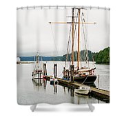 Pacific Grace Shower Curtain