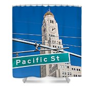 Pacific Street I Shower Curtain