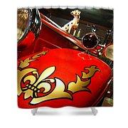 Packard Fire Engine  Shower Curtain