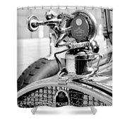Packard Girl Shower Curtain