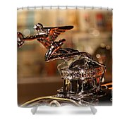 Packard Ornament Shower Curtain