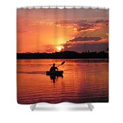 Paddle To Home Shower Curtain