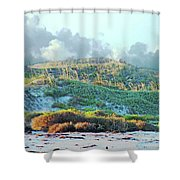 Padres Island National Park Beach Shower Curtain