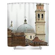 Padua Domes Padua Italy Shower Curtain