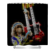 Zoso Shower Curtain