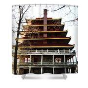 Pagoda Reading Pa. Shower Curtain