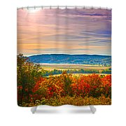 Paint Valley From Valley View Golf Shower Curtain
