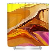 Painted Desert 012612 Shower Curtain