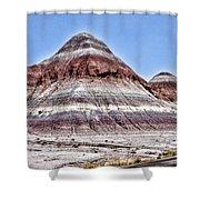 Painted Desert Mounds Shower Curtain