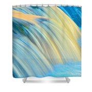 Painted Falls Shower Curtain