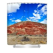 Painted Hills In Eastern Oregon Shower Curtain