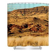 Painted Hills In Sheep Rock Shower Curtain