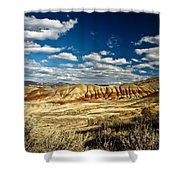Painted Hills Oregon Shower Curtain