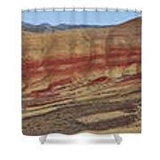 Painted Hills Panoramic Shower Curtain