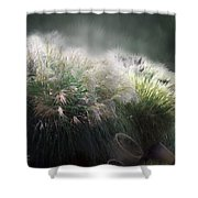 Painted Pampas Shower Curtain