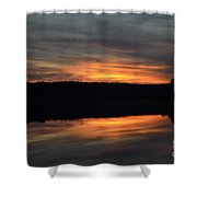 Painted Picture Perfect Shower Curtain