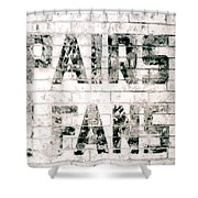 Pairs Fans Shower Curtain