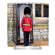 Palace Guard Shower Curtain