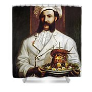 Palace Hotel Chef Shower Curtain