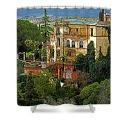 Palace Of The Arabian King - Ronda Shower Curtain