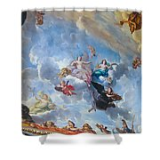 Palace Of Versailles Ceiling Art Shower Curtain