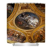 Palace Of Versailles Ceiling Shower Curtain