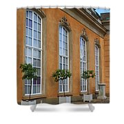 Palace Windows And Topiaries Shower Curtain