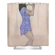 Palantines Herald Shower Curtain