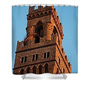 Palazzo Vecchio In Florence  Shower Curtain