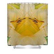 Pale Yellow Fantasy Shower Curtain