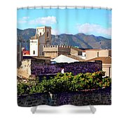 Palermo View Shower Curtain