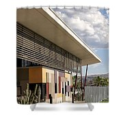 Palm Springs Animal Shelter  Shower Curtain