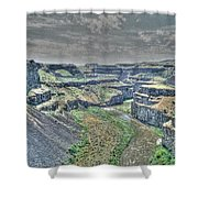 Palouse River Canyon Shower Curtain