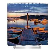 Pamet Harbor Shower Curtain