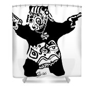 Pandameic Shower Curtain