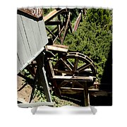 Panning For Gold In Virginia City Nevada Shower Curtain