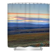 Panoramic At Sunset Along The Dempster Shower Curtain