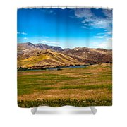 Panoramic Range Land Shower Curtain