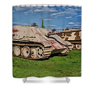 Panzerjager V Shower Curtain