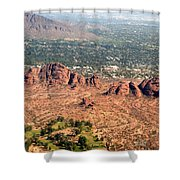 Papago Park Arizona Shower Curtain