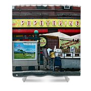 Papaya King Shower Curtain