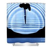 Parabolic Reflection Shower Curtain