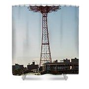 Parachute Drop Shower Curtain