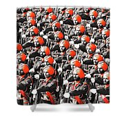 Parade March Indian Army Shower Curtain