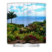 Paradise Found Shower Curtain