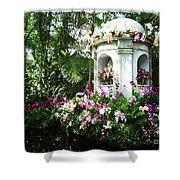 Paradise Gazebo Shower Curtain