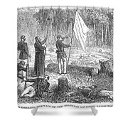 Paraguayan War, 1868 Shower Curtain