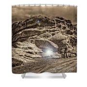 Paranormal Rockies Shower Curtain