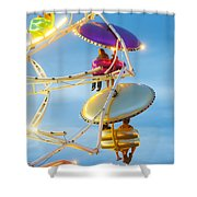 Paratrooper I Shower Curtain